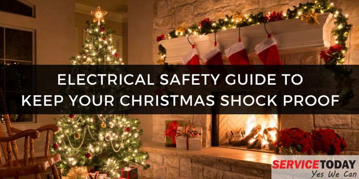 Stay Safe from Electrical Shocks & Jolts This #Christmas . #Holidays #Electrical #Electrician #Sydney #Australia
