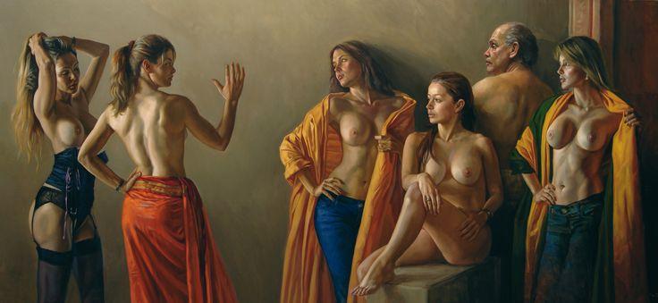 Darío Ortiz Robledo, pintor y escritor colombiano nacido en Ibagué en 1968. Se graduó del Colegio San Tarsicio de Bogotá en el año 1986.1 Artista neo-realista colombiano conocido por sus composiciones basadas en temas clásicos.