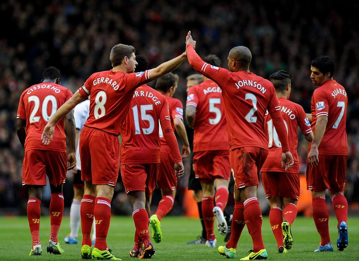 Liverpool FC, Gerrard, Johnson, Suarez