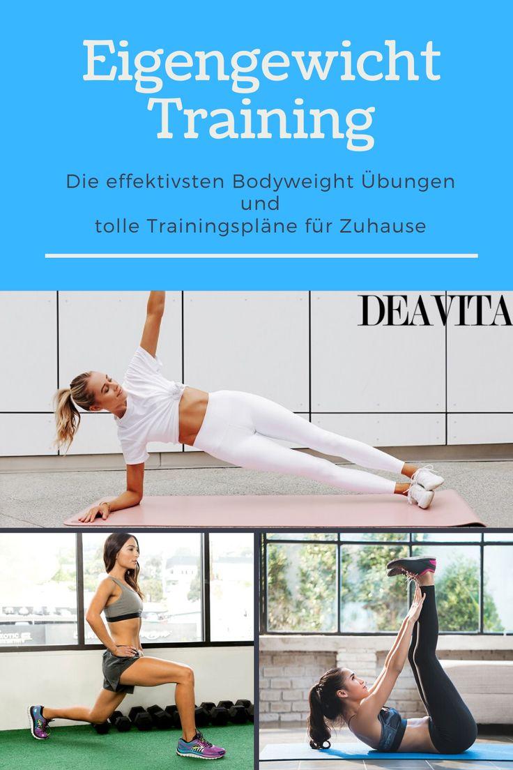 Bodyweighttraining - Übungen für Bauch und Rücken