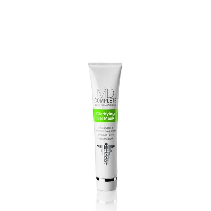Md Complete Skincare Acne Clearing Clarifying Gel Mask Crackedskinonheels Gel Mask Tumeric For Acne Gel