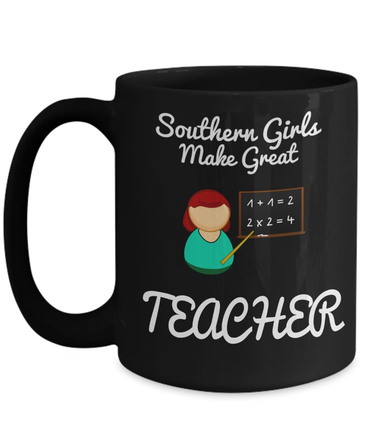 Best Teacher Mug - 15oz Teacher Coffee Mug - Teacher Gifts For Christmas - Funny Teacher Gift Ideas - Retirement Gifts For Teachers - Southern Girls Male Great Teacher  #giftforhim #giftforher #gift #coffeemug #customgift #yesecart #christmasgift #coffeelover