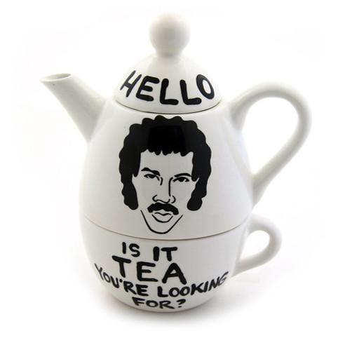 Lionel Richie Hello Is it Tea Parody Tea for One