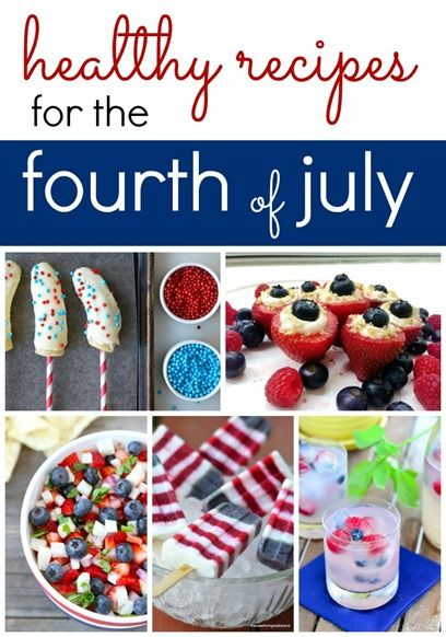 fourth of july recipes red white and blue