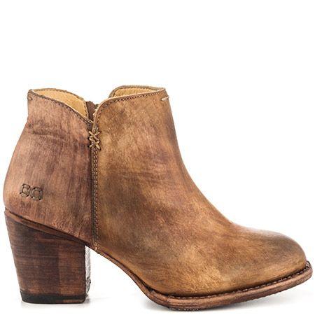Bed Stu Yell Tan Teak Driftwood Boots, Shoes, Heels