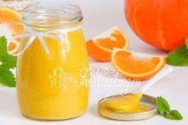 Апельсиновый курд с тыквой