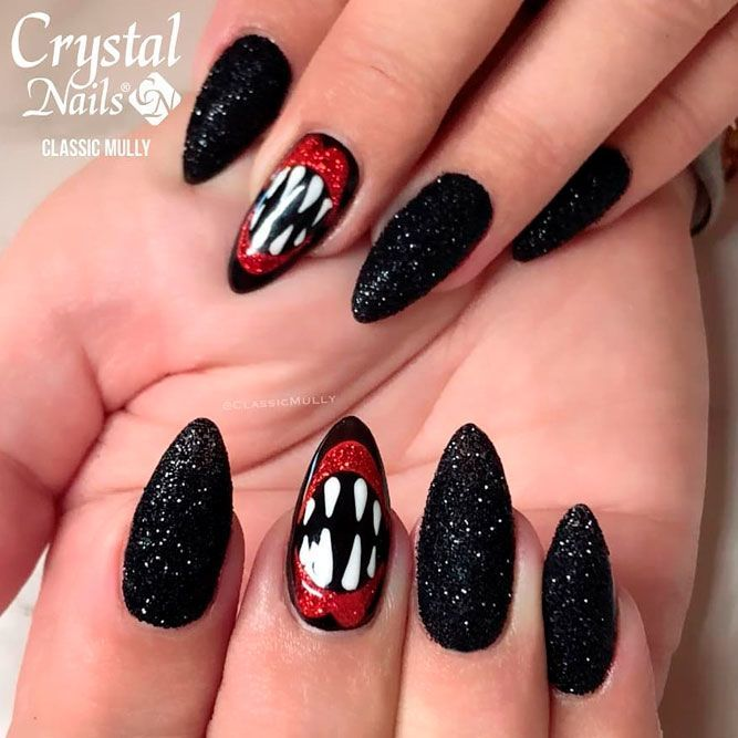 Pin On Halloween Nails