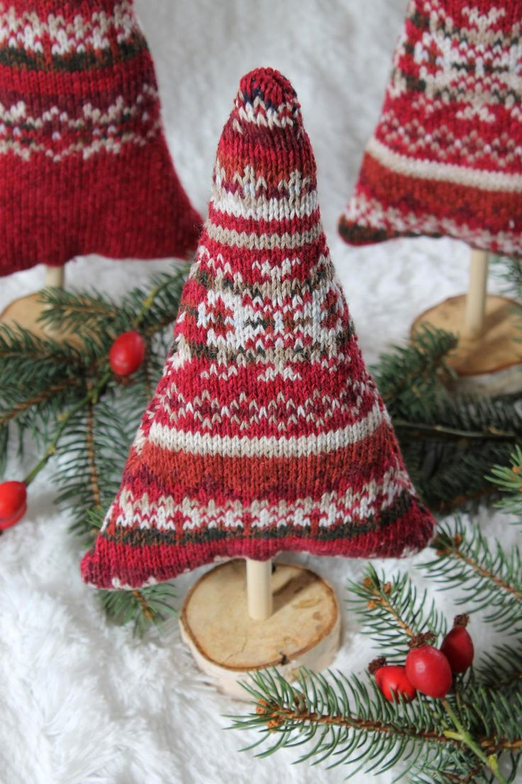 Christmas Sweater Trees Tutorial Holiday TreeHoliday CraftsUnique