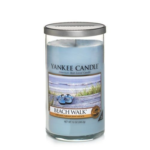 Yankee Candle Beach Walk Medium Perfect Pillar Candle Fresh Scent  Thanks  Regards >>> To view further for this item, visit the image link.