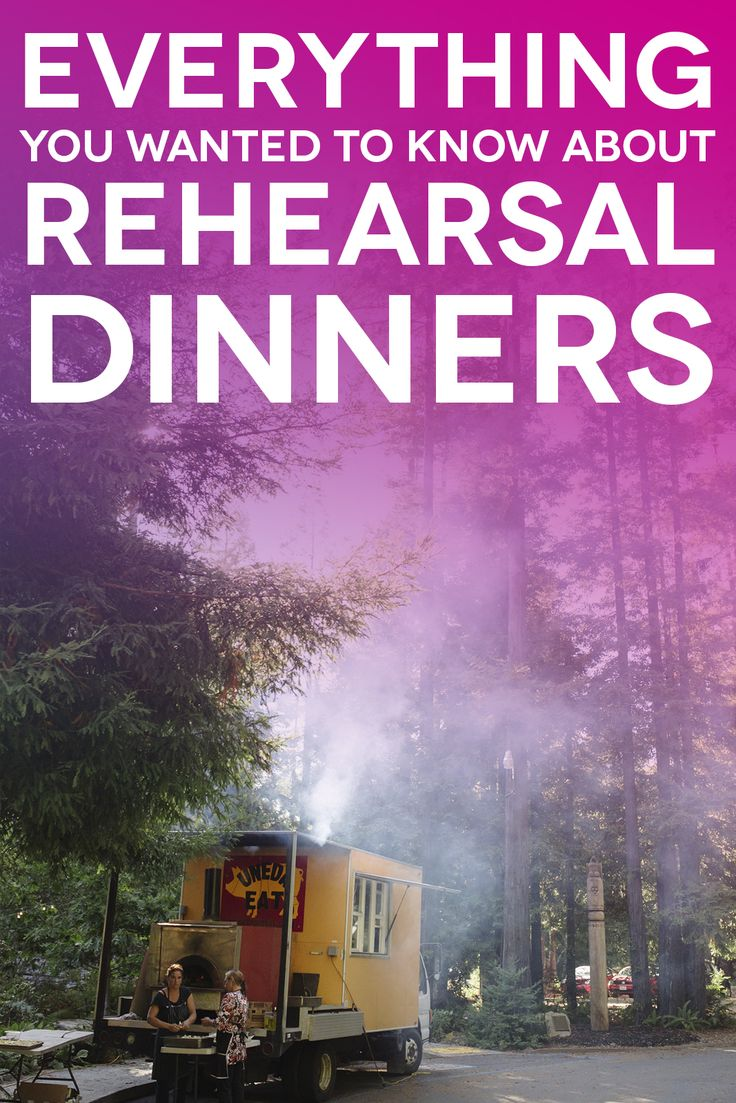 Rehearsal Dinners - everything you wanted to know to plan your Rehearsal Dinner