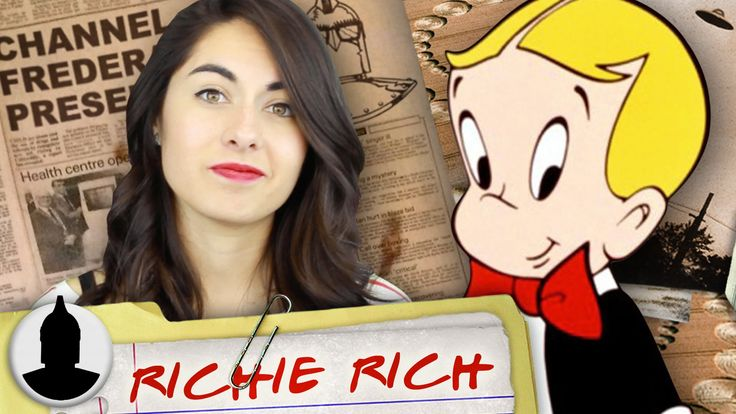 Are Richie Rich & Casper the SAME person?! - Cartoon Conspiracy (Ep. 91)... ~ Eh, I don't believe this one. They were drawn by the same artist and that's that.