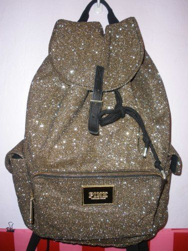 Victoria's Secret Pink GOLD Glitter Bling Backpack Bookbag by Victoria's Secret, http://www.amazon.com/dp/B00BKSGQOK/ref=cm_sw_r_pi_dp_kQ07rb0WKMZFA