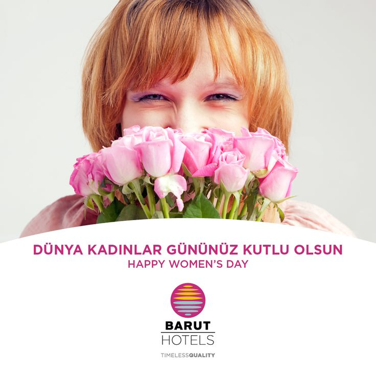 Hayata anlam katan tüm kadınların 8 Mart Dünya Kadınlar Gününü kutlarız! All the best wishes on this special day, today, who make our lives more significant, Happy women's day! ‪#‎followthesun‬ ‪#‎timelessquality‬ ‪#‎baruthotels‬