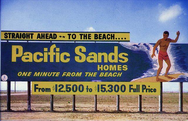 Image result for retro development billboard
