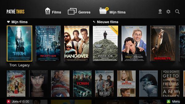 Pathé Thuis Samsung Smart TV app #iptv #smarttv