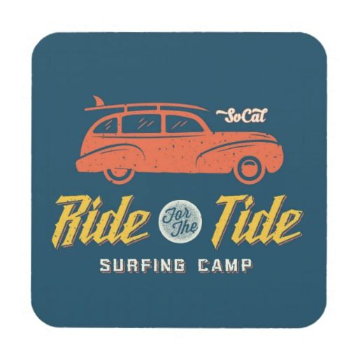 Socal Ride For The Tide. Regalos, Gifts. #posavaso #coaster
