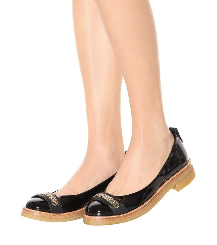Black Mila ballerina shoes