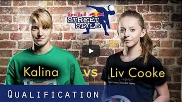 Liv Cooke vs Kalina Matysiak w freestyle. #football #soccer #sports #sport #pilkanozna #futbol #freestyle