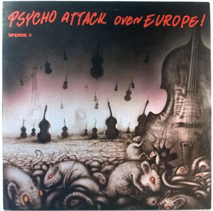 Various - Psycho Attack Over Europe!