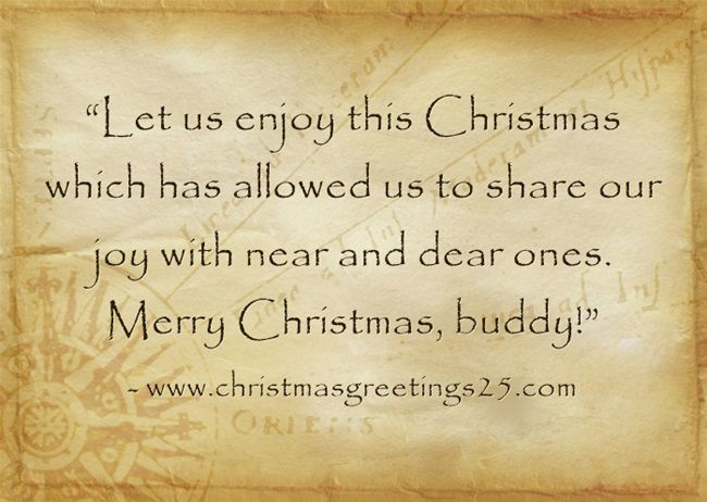 merry christmas greetings message