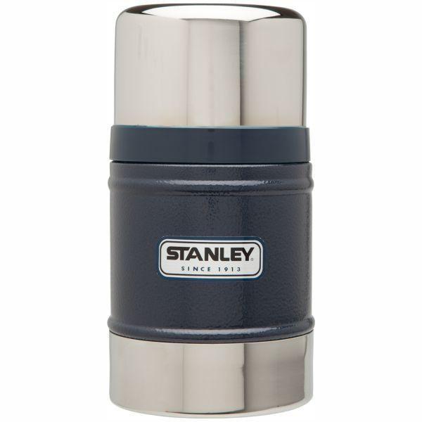 STANLEY     Classic 502ml Food Flask - Hammertone Navy