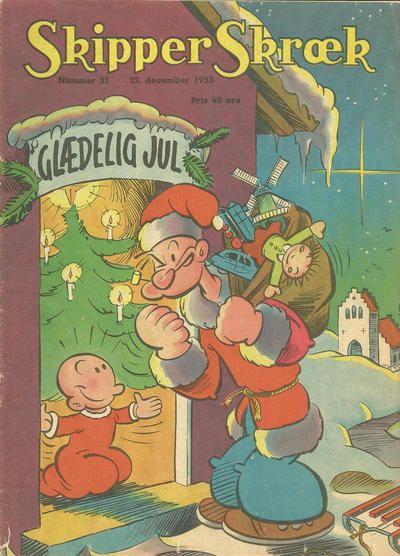 Cover for Skipper Skræk (Aller [DK], 1938 series) #51/1953
