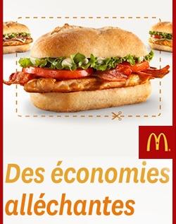 Super coupons chez McDonald. http://rienquedugratuit.ca/coupons/super-coupons-chez-mcdonald/