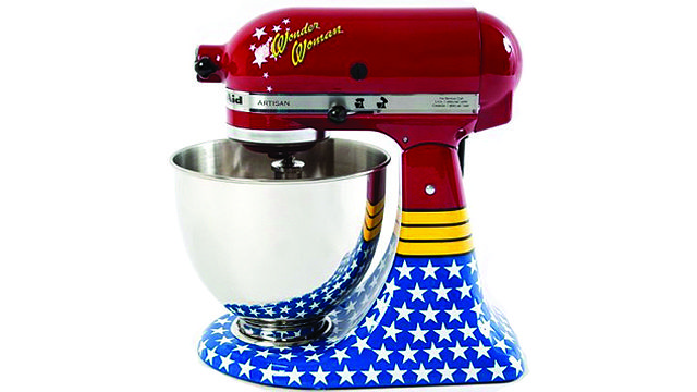 Wonder woman!: Kitchen Aid, Wonder Women, Stands Mixers, Kitchenaid, Women Mixers, Kitchens Aid Mixers, Wonder Woman