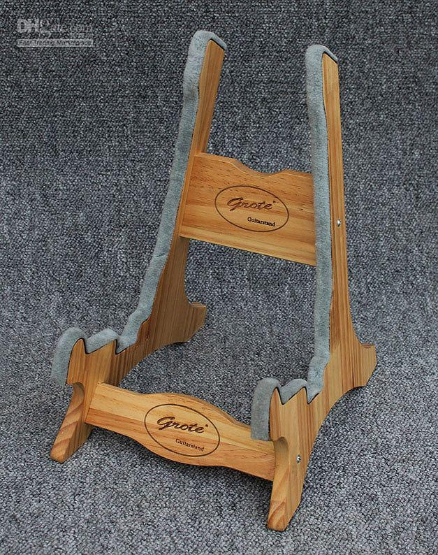 Wholesale Solid Red Pine Wood Guitar Stand Foldable for Acoustic and Electric Guitars, Free shipping, $23.48/Dozen | DHgate