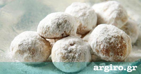 Κουραμπιέδες βουτύρου παραδοσιακοί από την Αργυρώ Μπαρμπαρίγου | Μια συνταγή που έφτασε στα χέρια µου έπειτα από πολλές διαβουλεύσεις. Φτιάξτε την όλοι!