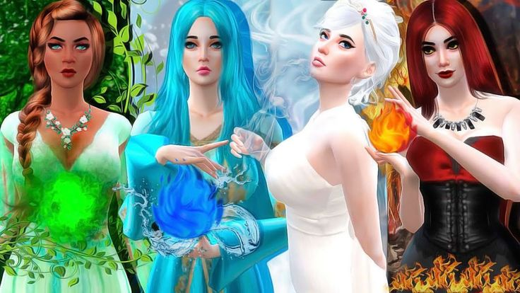 The Elementals | ♥ THE SIMS 4 MACHINIMA - YouTube