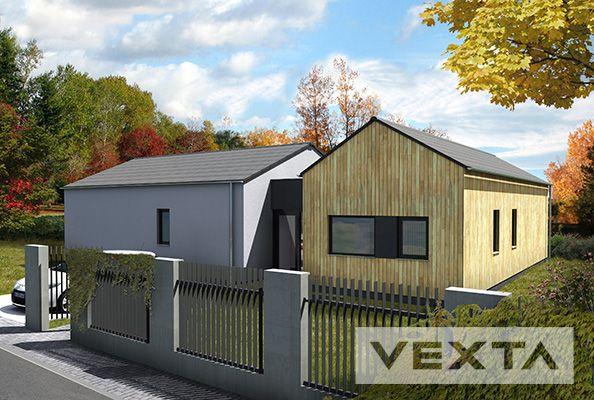Rodinné domy, dřevostavby, VEXTA B123 TREND