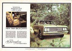 1969 HT Brougham By Holden Aussie Original Magazine Advertisement | by Darren Marlow
