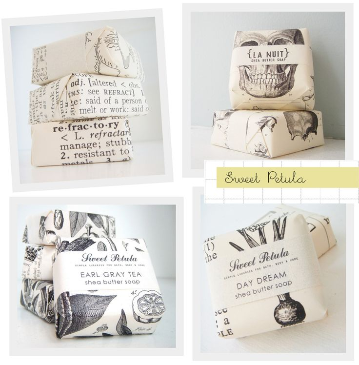 Vintage dictionary soap packaging #soap #packaging