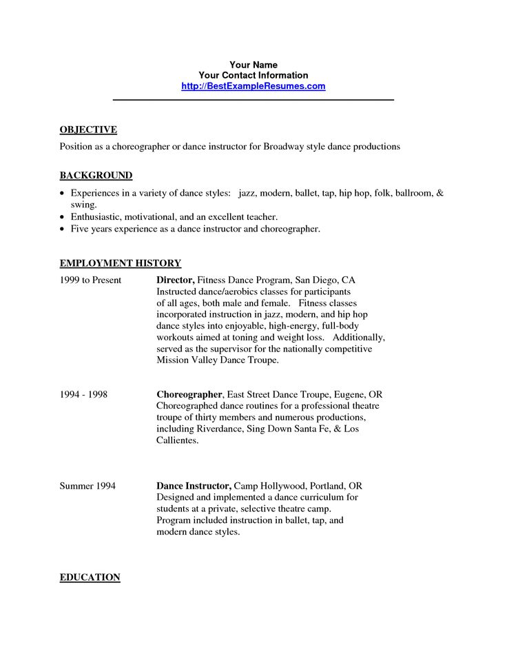 Film Production Assistant Resume Template - http\/\/www - fitness instructor resume sample