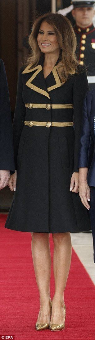First Lady Melania Trump❤️ She is always so beautifully put together...just oozes sophistication ❤️❤️