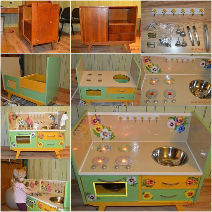85 best DIY Play Kitchens images on Pinterest Play kitchens