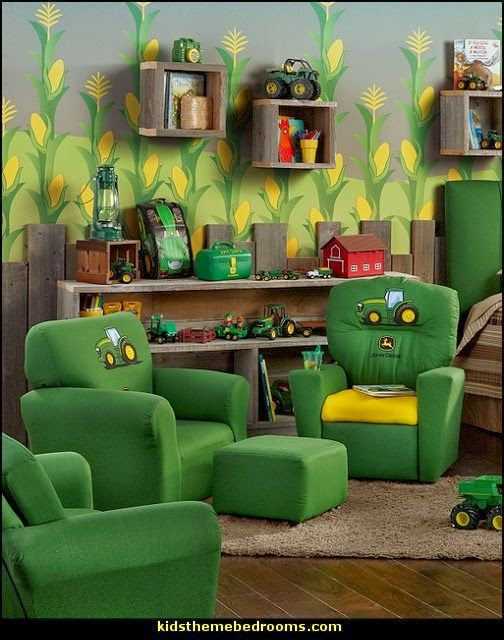John Deere Themed Bedroom Farm Themed Bedrooms