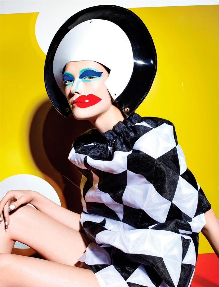 Yumi Lambert by Richard Burbridge for 10 Magazine