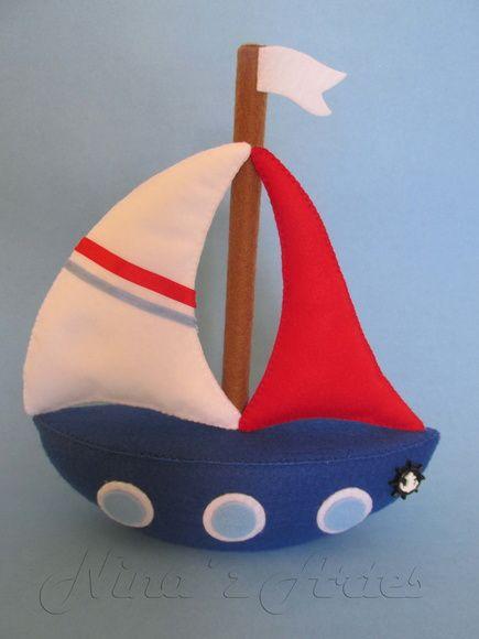 Barco a Vela (Aquarela)