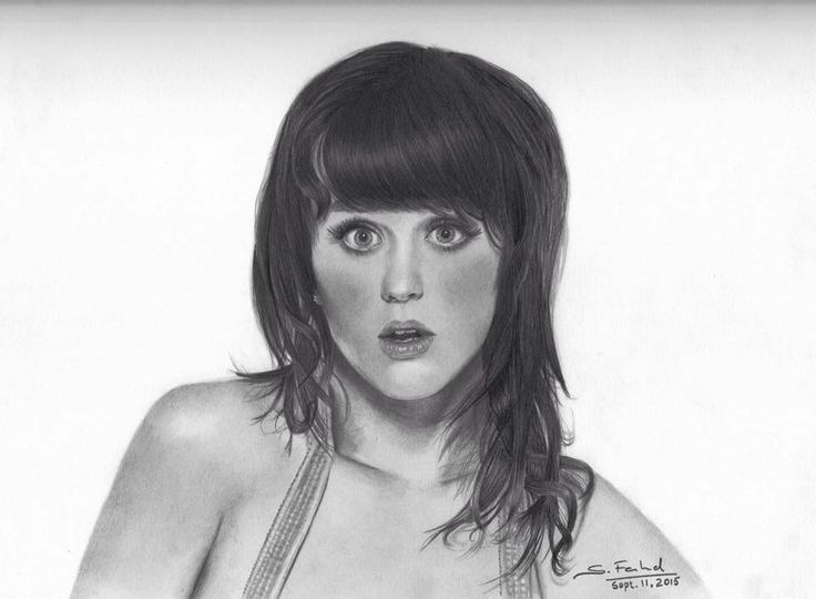 Katy Perry - Graphite pencils and several hours!!