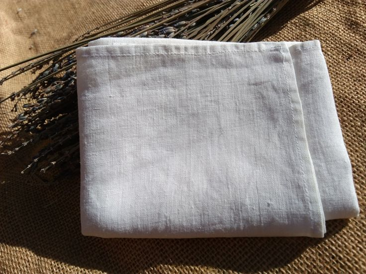 Antique plain white Linen Handkerchief French Tissue Pocket Square #sophieladydeparis by SophieLadyDeParis on Etsy
