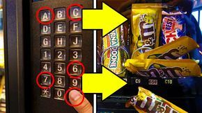 Get Free Candy From Any Vending Machines Codes & Trick! Simple Life Hacks Everyone Should Know in there day to day lives! we show you in this video some of t...