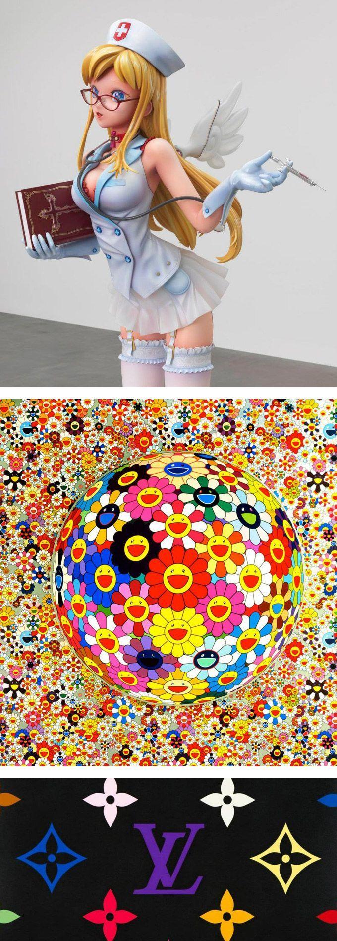 Takashi murakami sun flowers and contemporary art uniqlog - Takashi Murakami L Artista Del Superflat