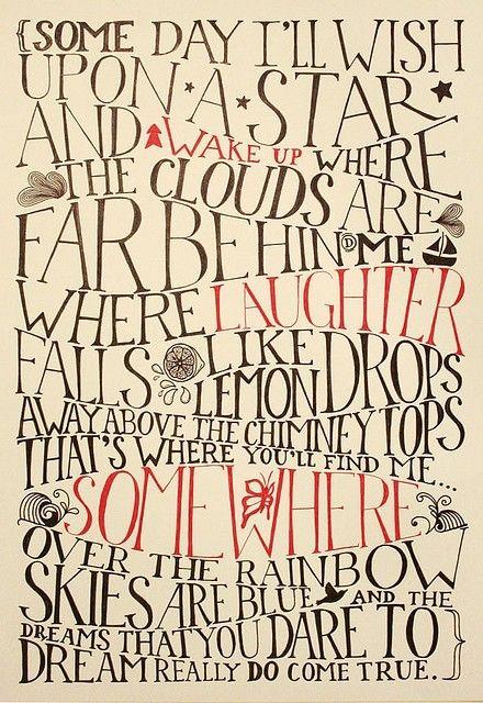: Inspiration, Quotes, Dream, Rainbows, Dr. Oz, Star, Movie, Wizard Of Oz