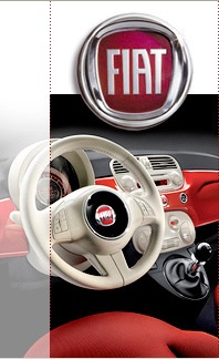 Fiat-vintage two-tone interior . My car gorgeous. Really this is the interior of my car!!