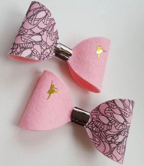 Check out this item in my Etsy shop https://www.etsy.com/uk/listing/519087027/ballet-bow-ballerina-bow-pink-hair-bow