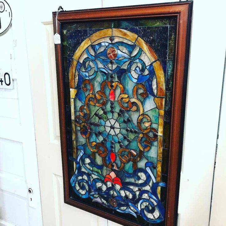 What a Beautiful Stained Glass Panel from one of our newest dealers. 7371 has this gorgeous piece among other amazing pieces in their space. $299 #temecula #antiques #temeculaantiques #fourthstreetantiques #4thstreetantiques #vintage #murrieta #wildomar #hemet #menifee #canyonlake #lakeelsinore #riversideca #palmsprings #fallbrook #oldtown #sandiego #oldtowntemecula #temeculavalley #vintageforsale #antiquesforsale #temeculabound #temeculawinecountry #antiquefinds #rustic #antiquestore…