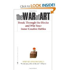 I just discovered this book. It is really an interesting read on how to overcome Resistance.  Highly recommend.  Just note a few religious references (which I kinda like) but may turn others off.