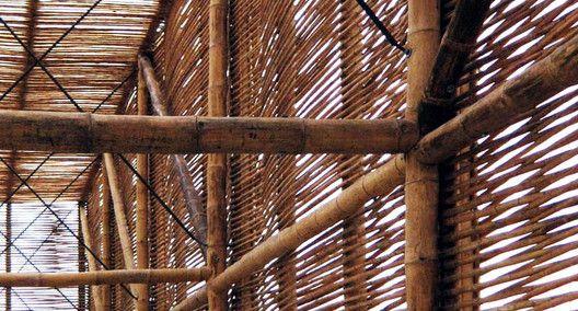 En Detalle: Las Uniones en Bambú,Cortesia de Michelle Llona